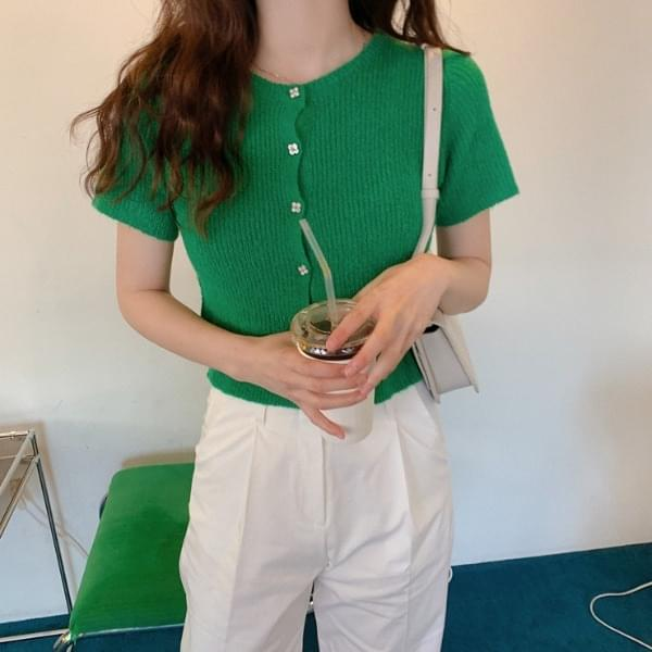 Riera short sleeve cardigan