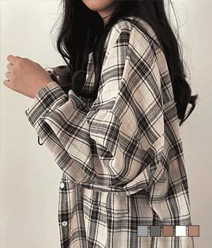 Mimi Avant-Fit Comfortable Check Shirt Shirt