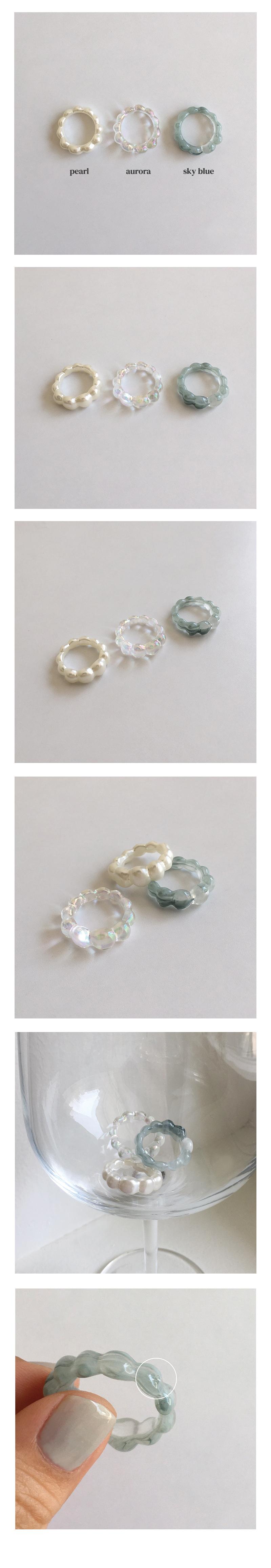 bubble acrylic ring