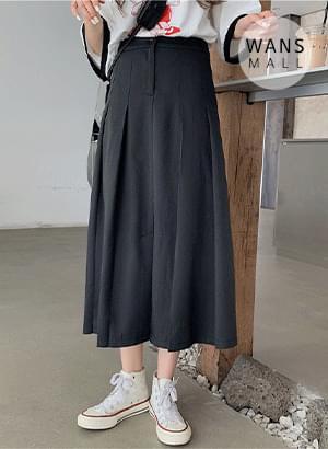 sk4257 diva pleated long skirt