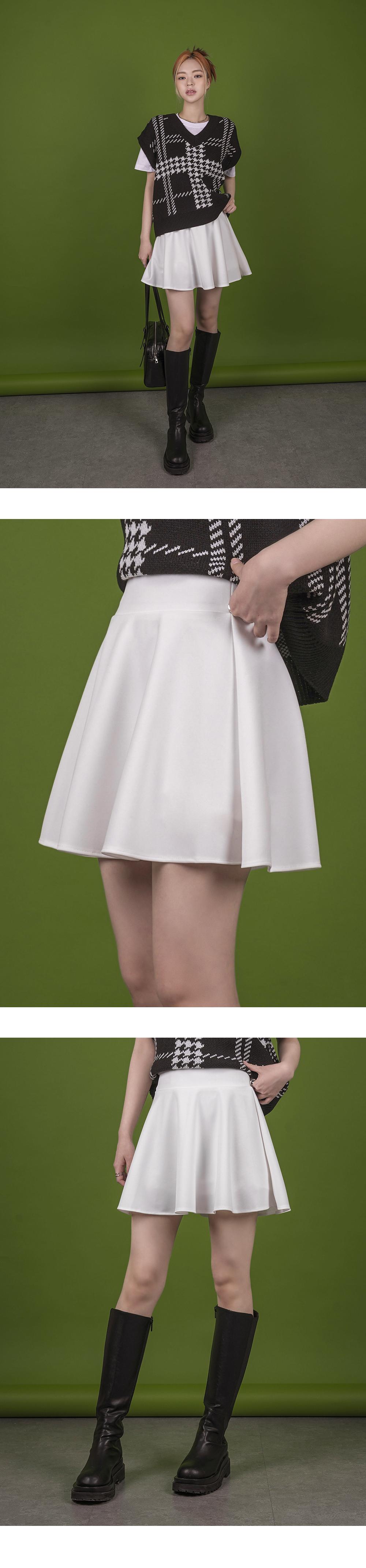 Lovia flared banded skirt trousers
