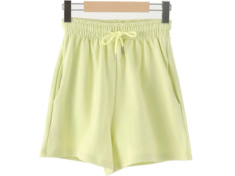 Coloring banding short pants