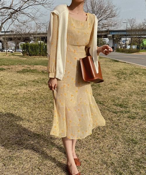 Say Flower Dress -2color
