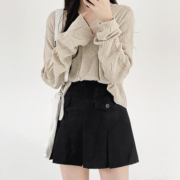 Barn pleated skirt