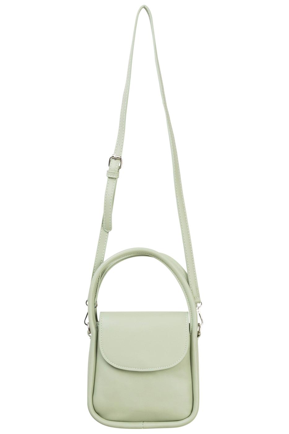 Simple square cross tote bag