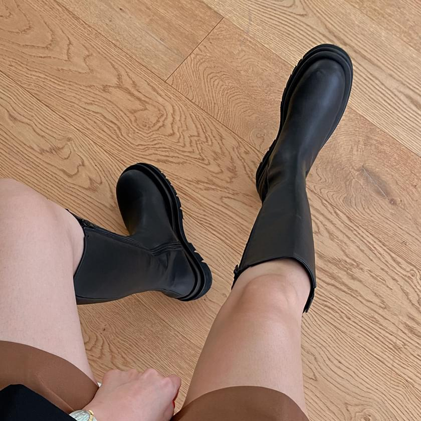 Berger banding long boots