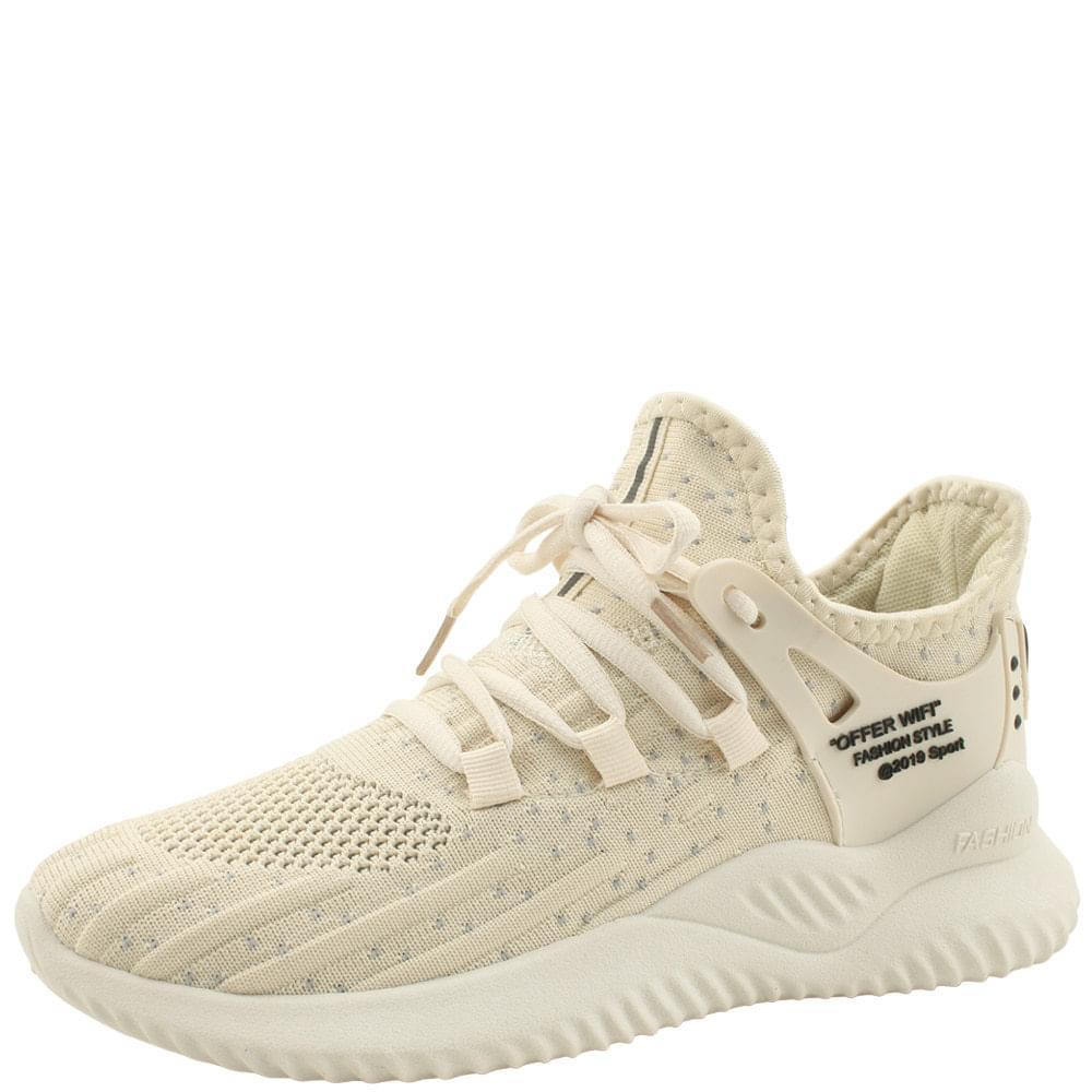 Knitwear Socks Cushioning Sneaker Beige
