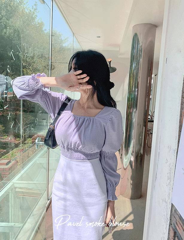 韓國空運 - Pobel smoke blouse 襯衫