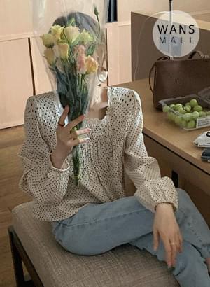 bl4273 moili dot blouse