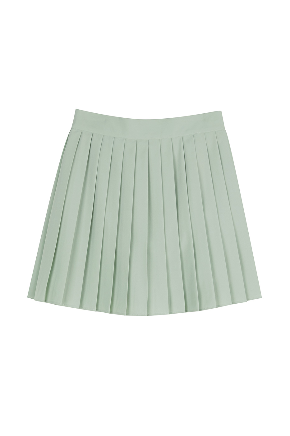 Sarah pleated short skirt