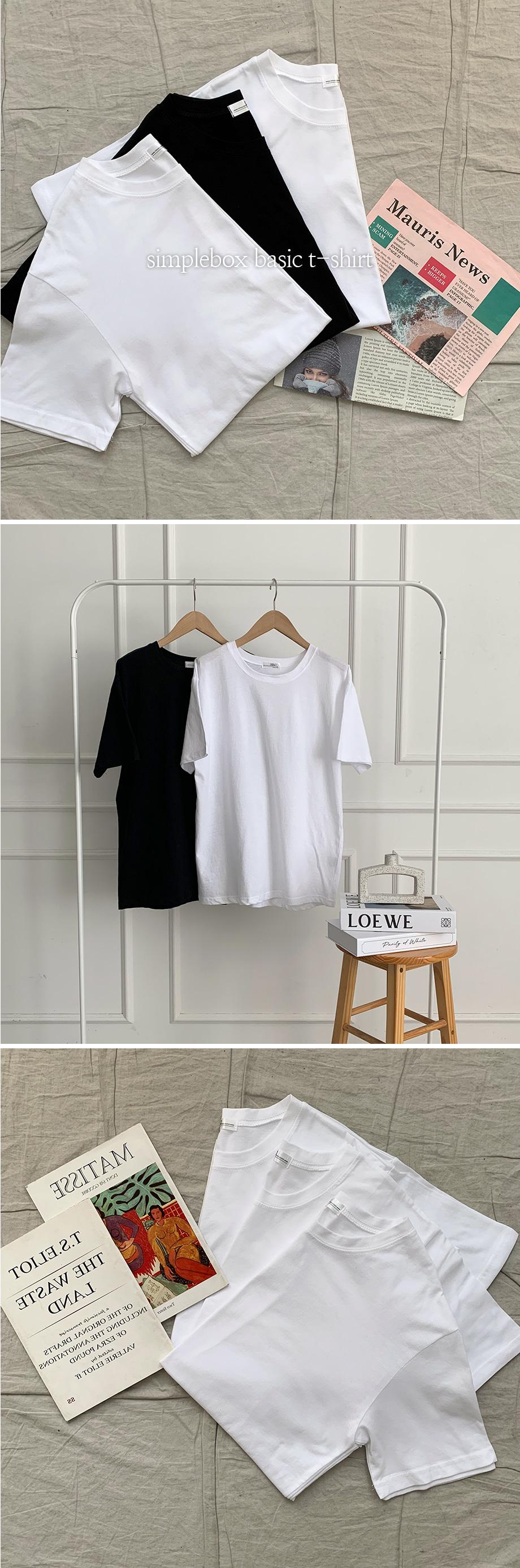 리리앤코 심플박스 3종 티셔츠