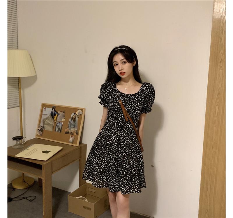 op4225 Ed Flower Mini Dress