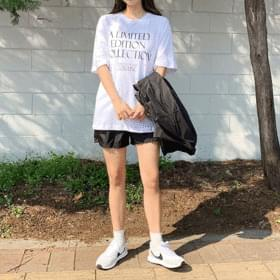 Loose-fit Edition Lettering Short Sleeve Tee