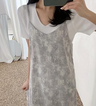 韓國空運 - Honey Line Dress #39077 長洋裝