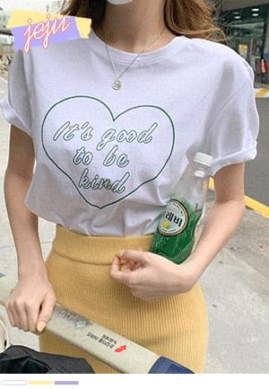 My Heart Silver Heart Short Sleeve T-Shirt