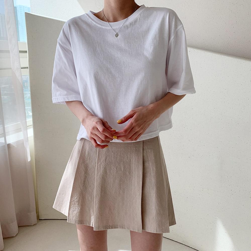 Momo cropped short-sleeved T-shirt