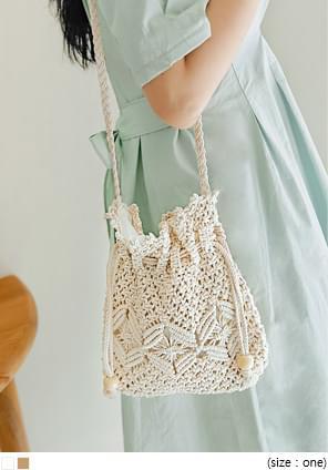 Crochet Style Crossbody Bag
