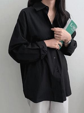 韓國空運 - Natural Overfit Shirt Shirt 襯衫