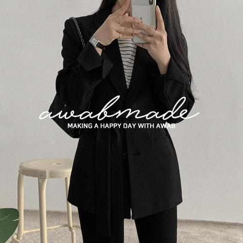♥ Add 15% until 04/18_#AWABMADE:_Dining belt jacket