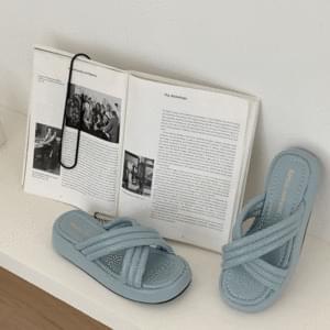 Cloud Cushion High Heel Slippers 5cm
