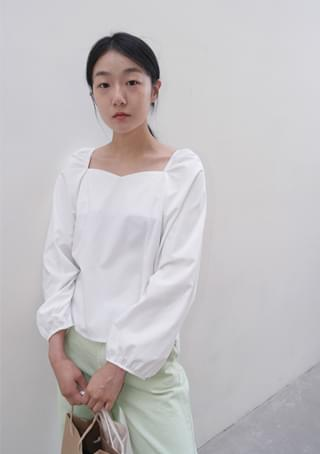 pure light cotton blouse