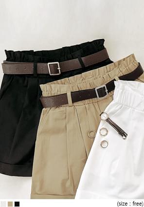 Cuffed Mini Shorts