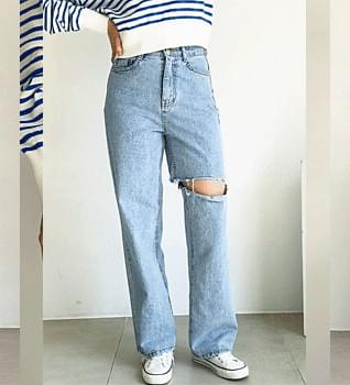 Overcut Straight Fit Jeans #76165