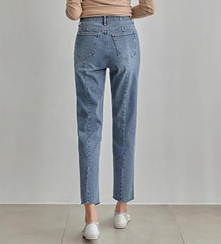 Boyfit Hidden Banding Backline Baggy Jeans #76142