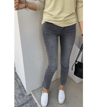 Gray Flared Jeans # 76170