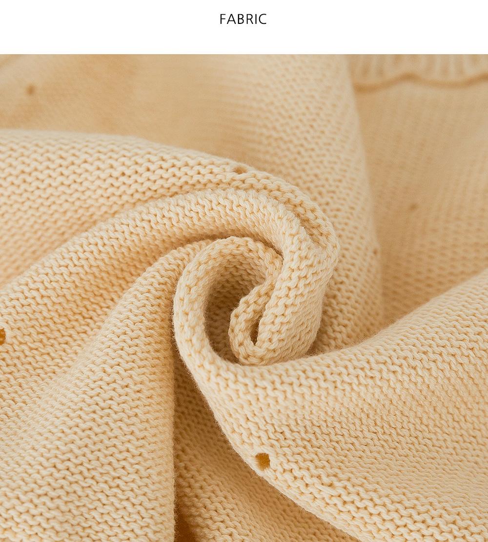 Prin Crop Punching Knitwear