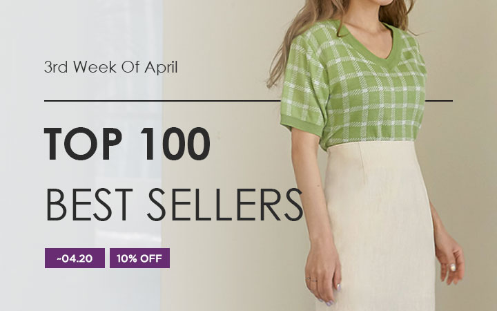 TOP 100 BEST SELLERS - 3rd Week Of April