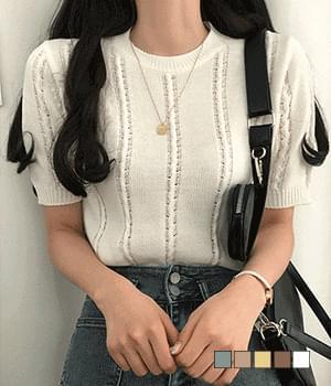 Aran Scassi Short Sleeve Knitwear