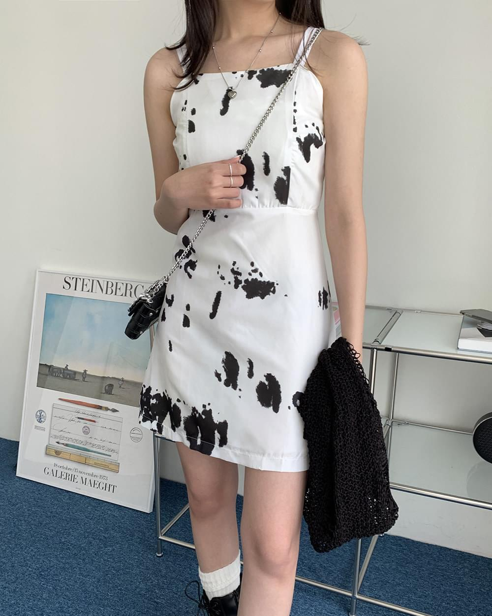 Something Ink Mini Sleeveless Dress 迷你短洋裝