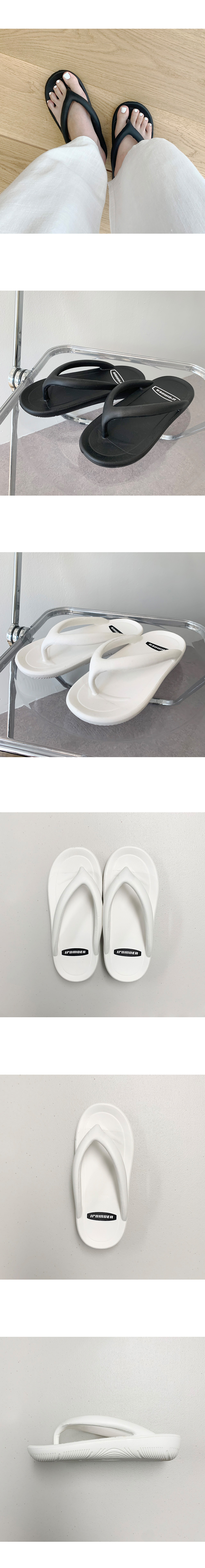 Fluffy thickened waterproof summer peppy slippers