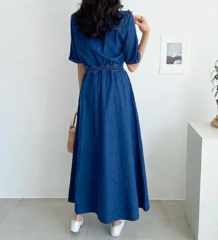Noah Denim Long Dress #37902