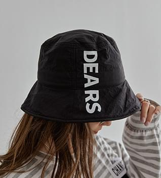 Lettering bungalow hat #86492