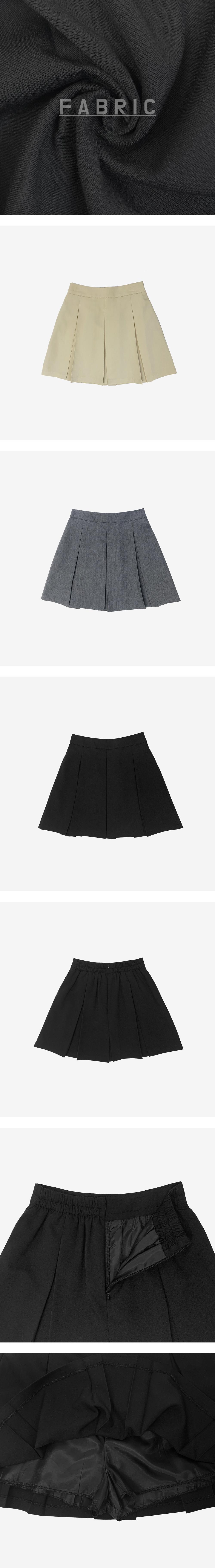 Haku pleated mini skirt