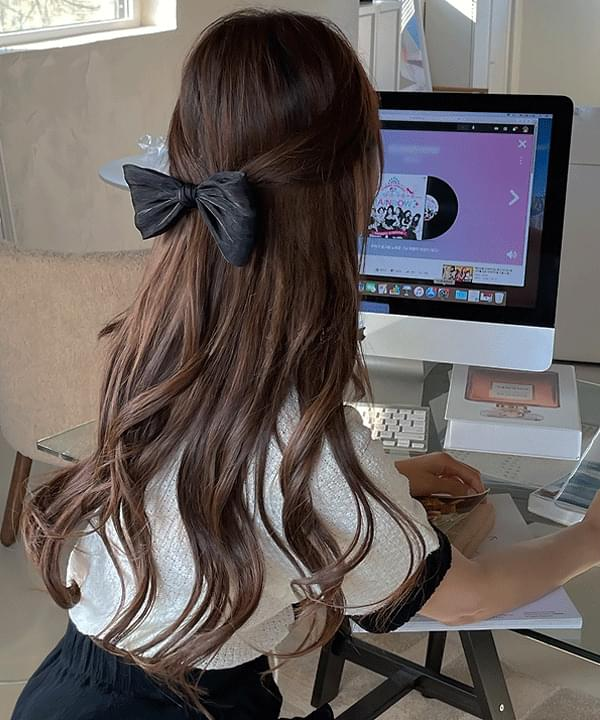 Like Ribbon Hairpin 2color
