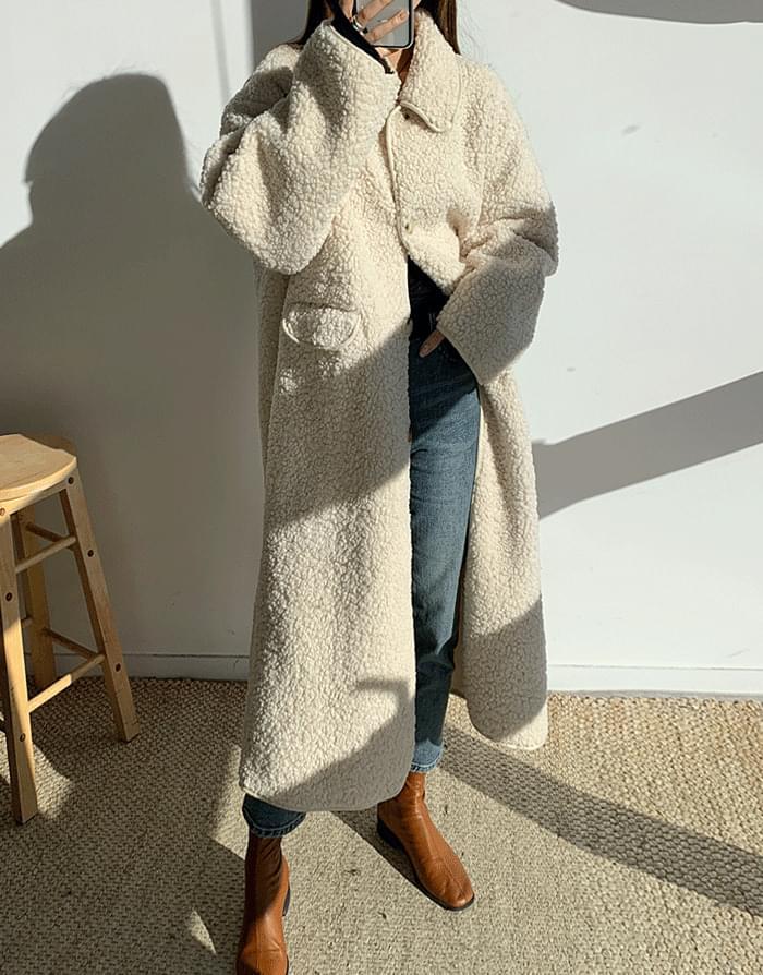 韓國空運 - Pogle Long Coat 大衣外套