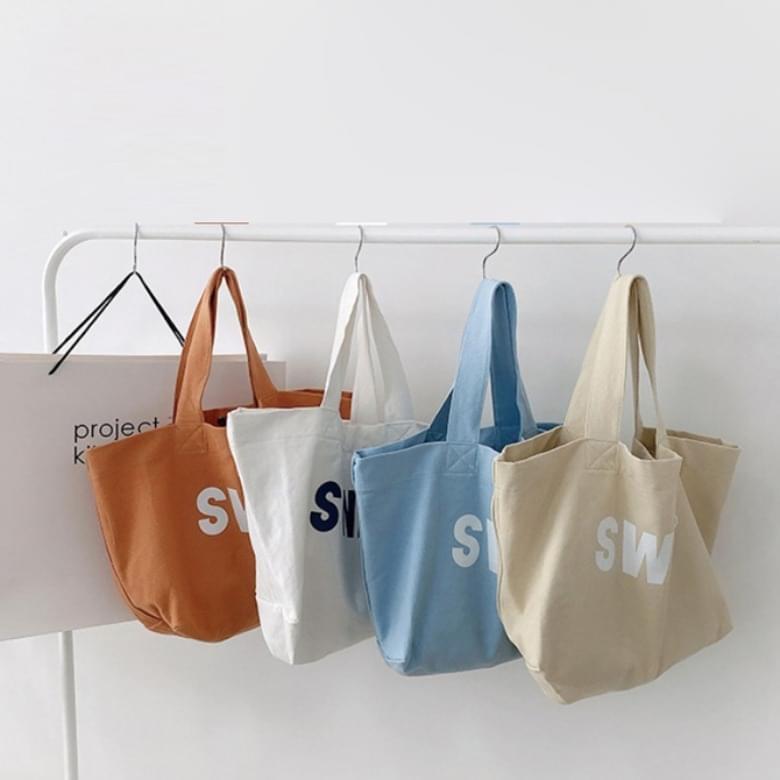 Casual Canvas Pastel Eco Bag