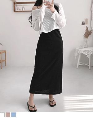 Buy Knitwear Cropped Long Dress