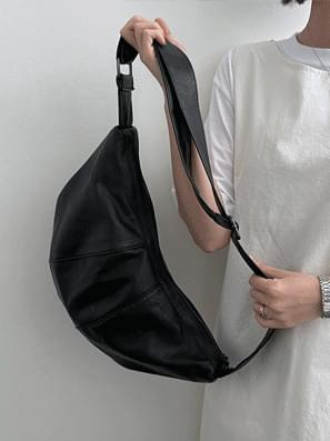Leather Bandal Strap Cross Bag