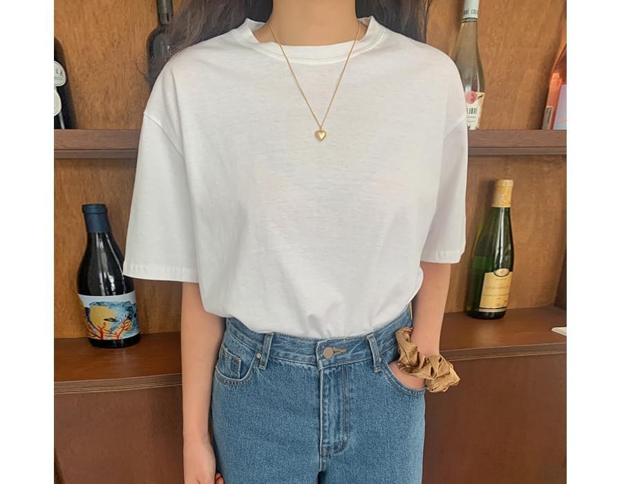 Four Seasons Cotton Short-sleeved T-shirt