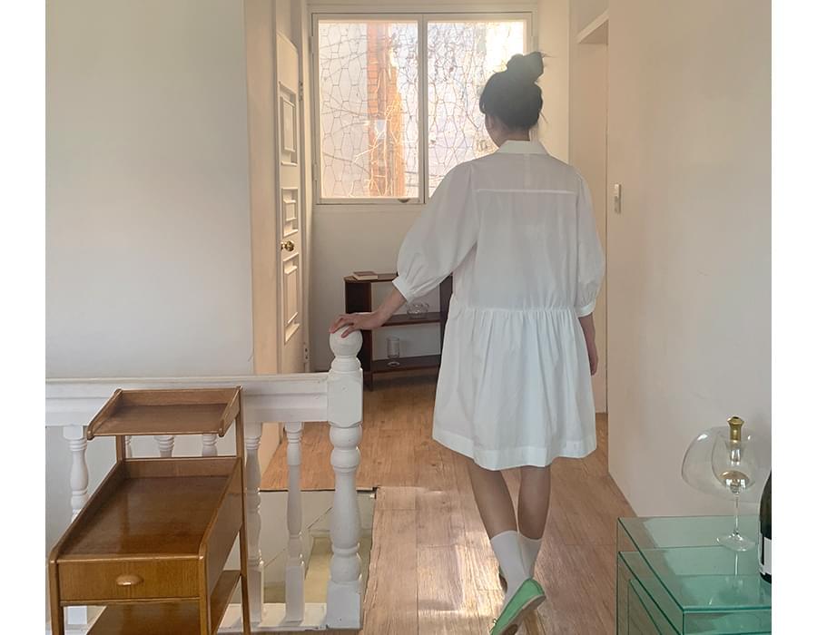 Lily Pocket Cotton Dress