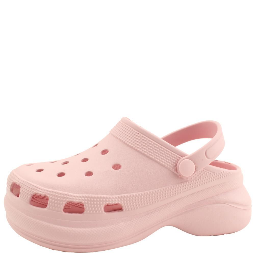 韓國空運 - Soft Slingback Tall Sandals 6cm Pink 涼鞋