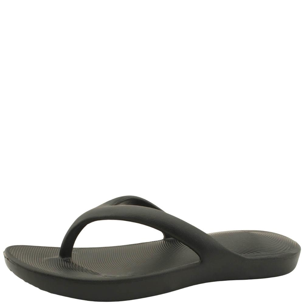 Flip-Flop Cushioning Couple Slippers Black