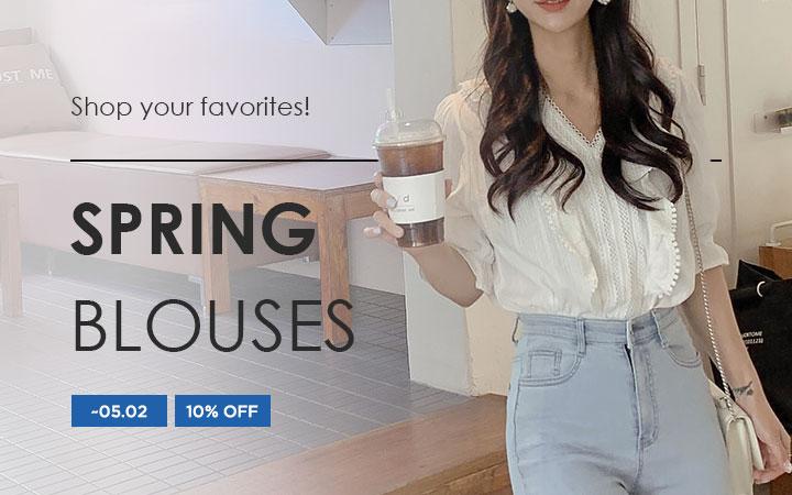 Shop your favorites! - Spring Blouses