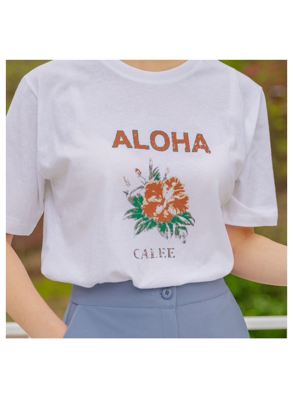 Aloha Loose-fit Short Sleeve Tee