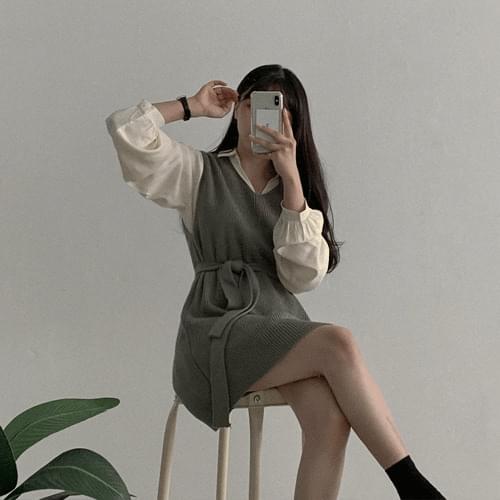 Wear Knitwear Vest Dress