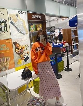 韓國空運 - Syracuse lettering Sweatshirt 長袖上衣